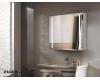 Esbano ES-2404 Зеркальный шкаф для ванной с LED подсветкой, 80х70 см