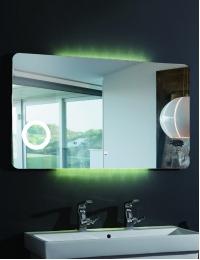 Esbano ES-1831KD (YD) Зеркало горизонтальное с подсветкой и подогревом