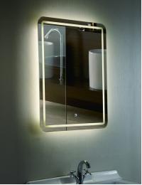 Esbano ES-1989HD Зеркало универсальное с подсветкой и подогревом