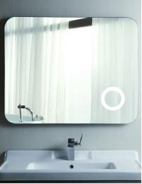 Esbano ES-2070KD Зеркало горизонтальное с подогревом и косметическим зеркальцем