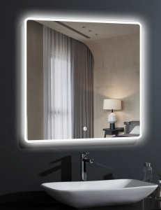 Esbano ES-2073TDS Зеркало квадратное с подсветкой и подогревом