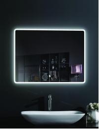 Esbano ES-2073 Зеркало горизонтальное с подсветкой и функцией антизапотевания