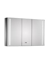 Esbano ES-2408 Зеркальный шкаф с led подсветкой, розеткой и ИК-включателем