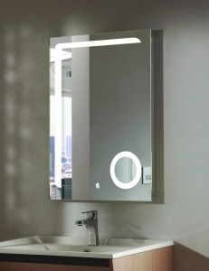 Esbano ES-2417HD Зеркало вертикальное с подсветкой и функцией антизапотевания