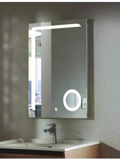 Esbano ES-2417HD Зеркало для ванной вертикальное с подсветкой и подогревом