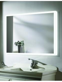 Esbano ES-2542 Зеркало для ванной горизонтальное с Led подсветкой и подогревом