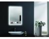 Esbano ES-2632HD Зеркало для ванной с Led подсветкой и подогревом, универсальное