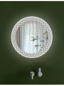 Esbano ES-3596 (YD, LD) Круглое зеркало для ванной с подсветкой и подогревом