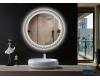 Esbano ES-3599YD Круглое зеркало для ванной с подсветкой и подогревом