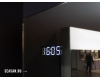 Esbano ES-3845RD (ID,KD) Зеркало для ванной с подогревом и подсветкой лупы