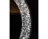 Esbano ES-3850R Круглое зеркало для ванной с подсветкой и подогревом