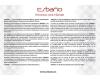 Esbano RIPOLL-C (Matt Black) Унитаз напольный безободковый
