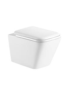 Esbano TIRON Унитаз подвесной безободковый, белый