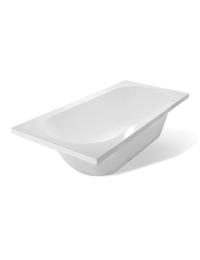 Эстет Честер 170х75 Ванна прямоугольная из литьевого мрамора