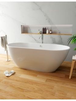 Эстет Майами 168х78 ФР-00003615 Отдельностоящая ванна из литьевого мрамора