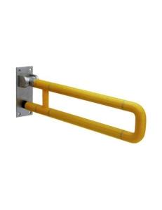 Поручень U-образный опорный откидной (подъемный), Жёлтый