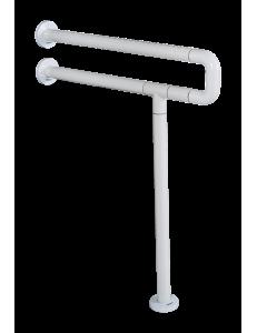 Поручень U-образный для ванной и туалета с креплением к полу