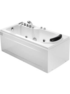 Gemy G9006-1.7  B  Ванна гидромассажная пристенная, 172х77 см, белый