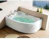Gemy G9009 B  Ванна гидромассажная пристенная, 150х100 см, белый