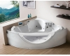 Gemy G9025 II K Ванна гидромассажная пристенная, 150х150 см, белый