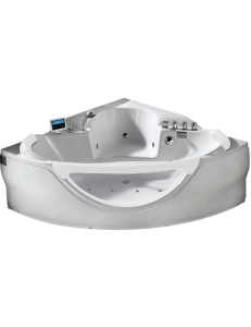Gemy G9025 II K Ванна гидромассажная пристенная 150х150 см, белый