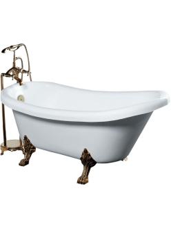 Gemy G9030 A Ванна акриловая отдельностоящая, 175х82 см