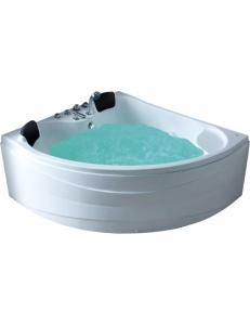 Gemy G9041 B Ванна гидромассажная пристенная 150х150 см, белый