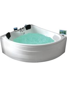 Gemy G9041 O Ванна гидромассажная пристенная 150х150 см, белый