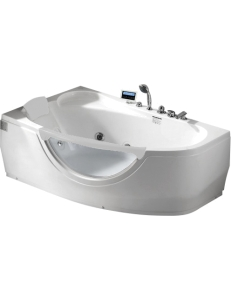 Gemy G9046 II K Ванна гидромассажная пристенная 171х99 см, белый