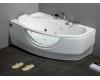 Gemy G9046 II K  Ванна гидромассажная пристенная, 171х99 см, белый