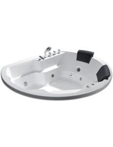 Gemy G9053 B Ванна гидромассажная встраиваемая 185х162 см, белый