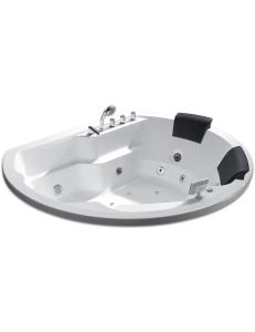 Gemy G9053 K Ванна гидромассажная встраиваемая 185х162 см, белый
