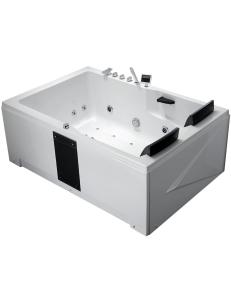 Gemy G9061 K Ванна гидромассажная пристенная 181х121 см, белый