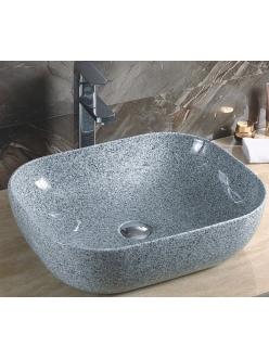 GID Ceramica MNC338 Накладная раковина стилизованная под мрамор