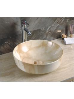 GID Ceramica MNC526 Накладная раковина стилизованная под мрамор