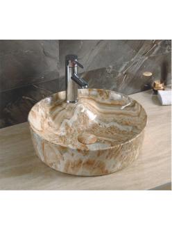 GID Ceramica MNC535 Накладная раковина стилизованная под мрамор