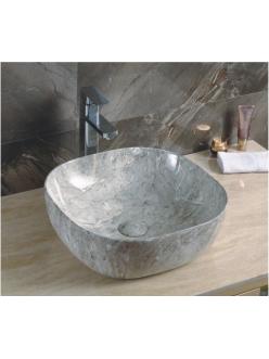 GID Ceramica MNC545 Накладная раковина стилизованная под мрамор