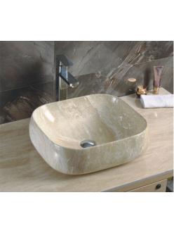 GID Ceramica MNC554 Накладная раковина стилизованная под мрамор