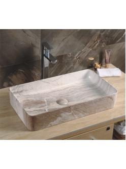 GID Ceramica MNC596 Накладная раковина стилизованная под мрамор