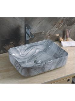 GID Ceramica MNC597 Накладная раковина стилизованная под мрамор