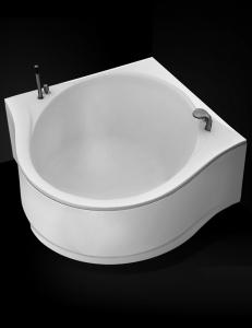 GNT Revelation 164x164 – Угловая акриловая ванна