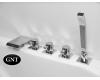 GNT Torrens-74 H 47418 Каскадный смеситель на борт ванны