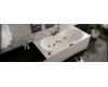 GNT Style 180x80 – Прямоугольная акриловая ванна на каркасе с сифоном