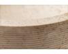 Natural Stone 45 Cream Alur Раковина из натурального мрамора с ручной отделкой