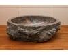 Асимметричная раковина-чаша Natural Stone Grey из натурального мрамора