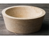 Natural Stone 40 Cream Kecil Раковина накладная из натурального мрамора