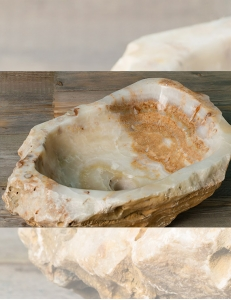 Natural Stone Antara Накладная раковина-чаша из оникса
