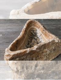 Natural Stone Bromo Накладная раковина-чаша из оникса