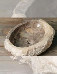 Natural Stone Dua Накладная раковина-чаша из оникса