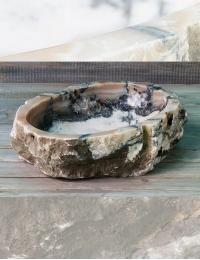 Natural Stone Fantasy Накладная раковина-чаша из оникса